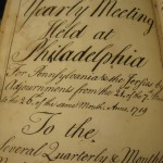 Yearly Meeting Held at Philadelphia