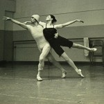 Rehearsal with the Pennsylvania Ballet
