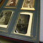 Read family photograph albums