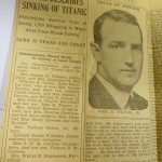 Thayer Describes Sinking of Titanic