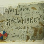 MOLLUS whiskey label.