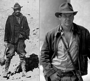 Langdon Warner and Indiana Jones. Striking, no?