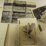 Photographs of artifact acquired and excursions made by Warner.