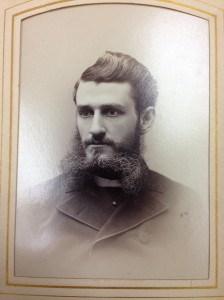 A student from 1883 -- what fine hair!